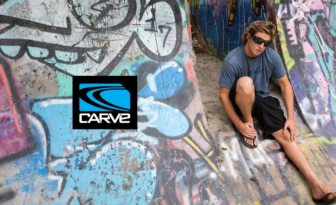 CLAY MARZO RE-SIGNS WITH CARVE EYEWEAR - ASB